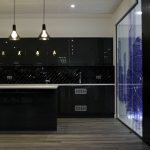 Designer kitchen and office breakout area